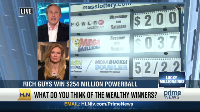 Co-workers win $254 million Powerball