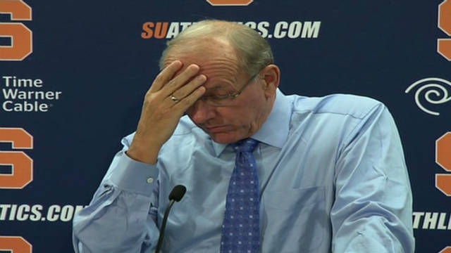 Boeheim not worried about his job