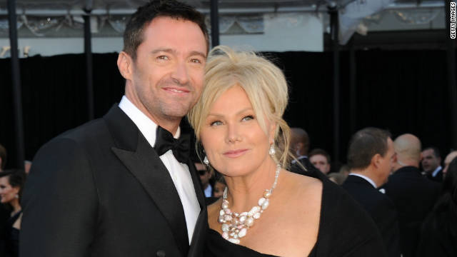 Deborra-Lee Furness and husband Hugh Jackman.