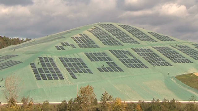 Solar Landfill Provides A Shining Example Cnn Com