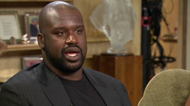 Shaq counts his blessings