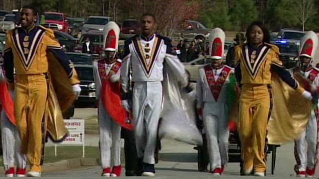 Funeral march for FAMU student