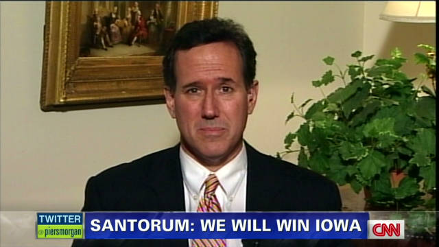 Santorum: Praying for Herman Cain