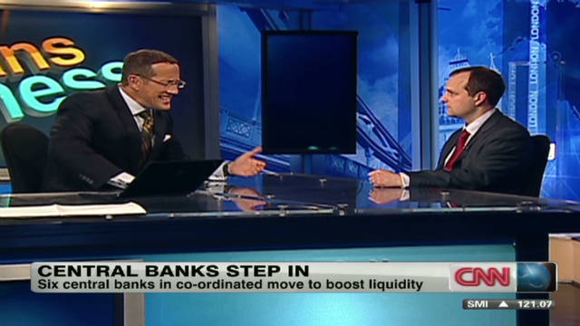 Central banks step in to help markets