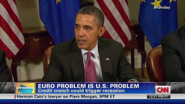 Euro problem is U.S. problem