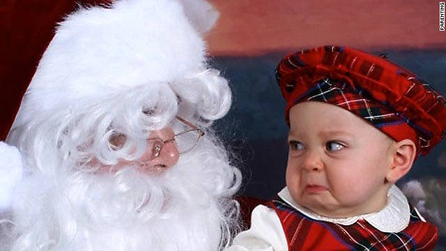 Is your child ready for the ritual of getting a photo taken with Santa?
