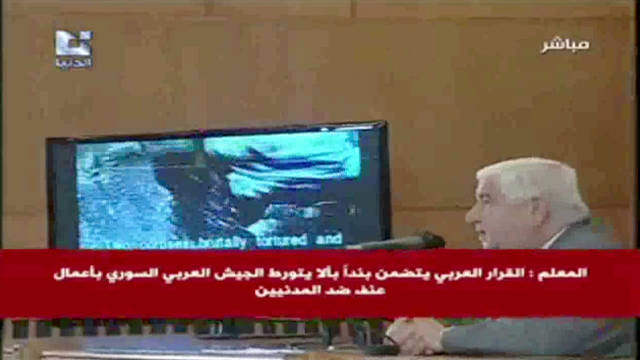 Syria's 'graphic' video misleading