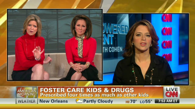 Foster care kids overprescribed drugs