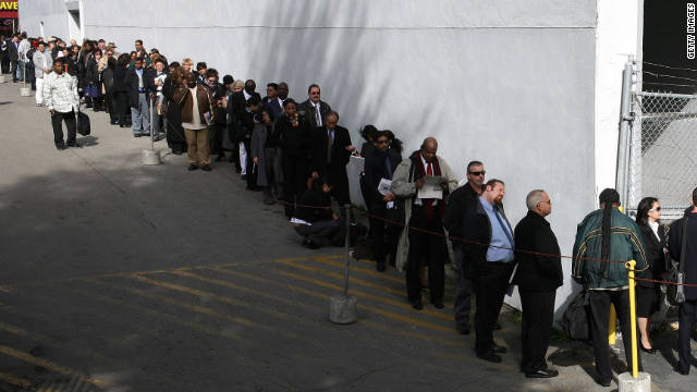 The jobless who receive benefits more actively seek work than those who don't, a national survey says.