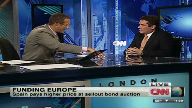 Bond yields fall across Europe