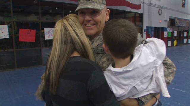 U.S. troops return to Texas