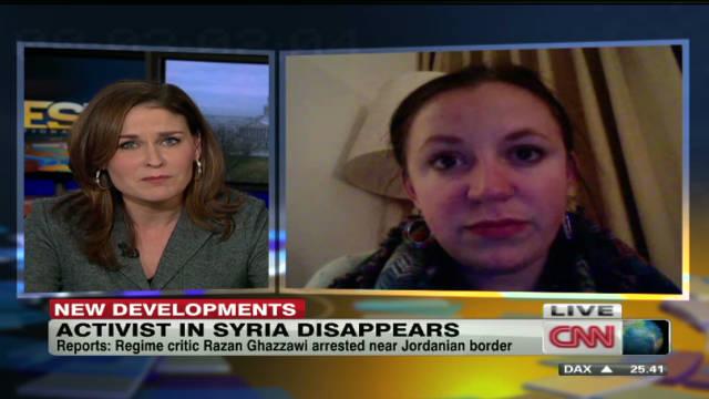 Syrian blogger Razan Ghazzawi arrested