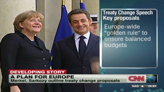 EU leaders talk possible treaty changes