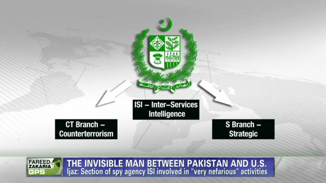 The 'invisible man' between Pakistan, US