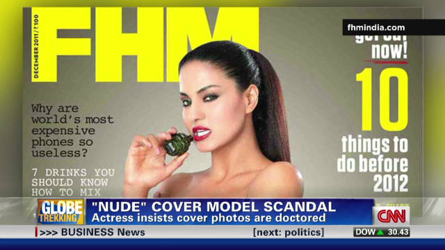 Nude cover sparks outrage