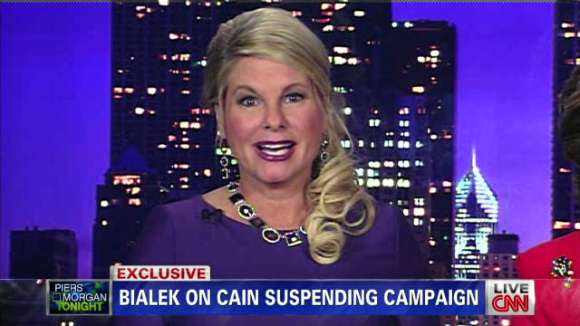 Bialek: Saddened about Cain developments