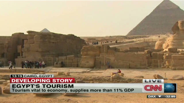 Egypt tourism in steep decline