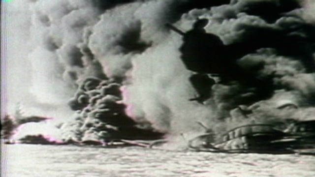 1941: Japan bombs Pearl Harbor