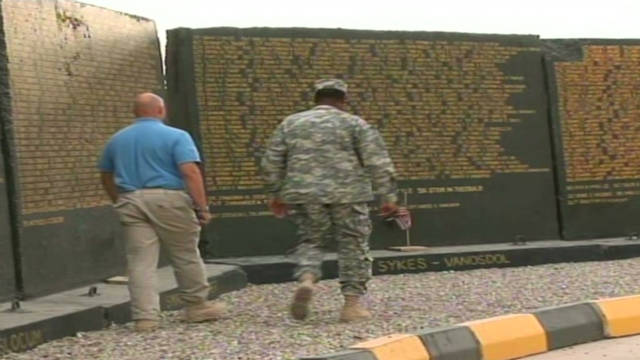 'Vietnam type' wall in Iraq for soldiers