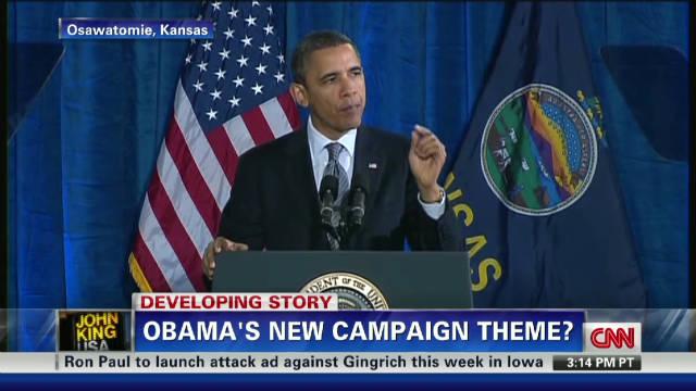 New Obama campaign theme?