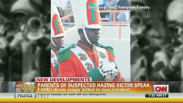 FAMU drum major's parents speak out