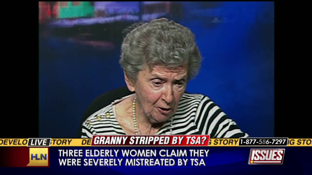 85-year-old: I was strip searched by TSA