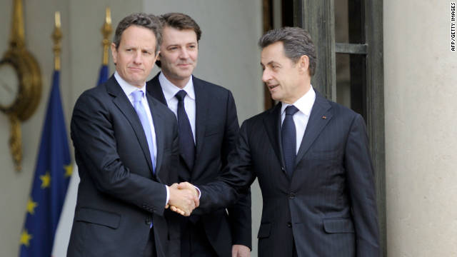 Geithner keeps up pressure on Europe