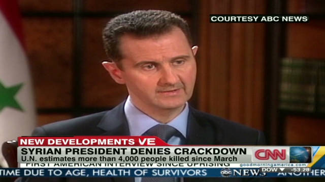 Syrian president: UN is not credible