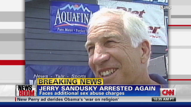 Jerry Sandusky arrested again