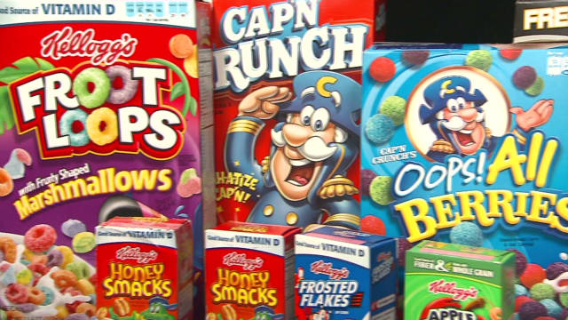 Concerns over sugary kids' cereals