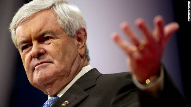 Gingrich: Palestinians are 'invented'