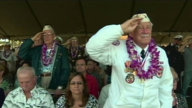 Pearl Harbor attack 70th anniversary