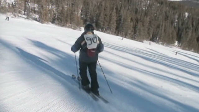 Man, 90, hits the slopes