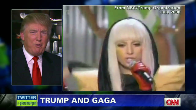 Trump's role in launching Lady Gaga
