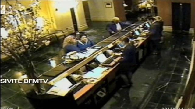 Strauss-Kahn hotel surveillance video