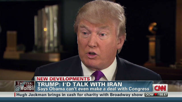 Donald Trump: I'd talk with Iran