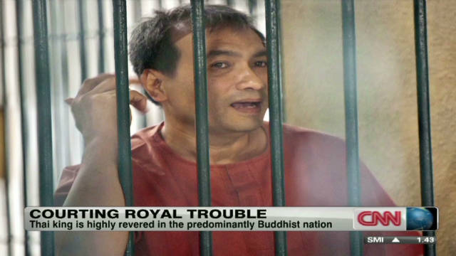 2011: American sentenced for Thai insult