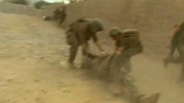 Exclusive: Taliban attack caught on tape