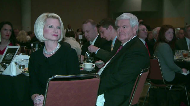 Gingrich's marriage 'baggage'