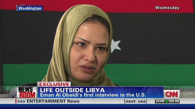 Alleged Libyan rape victim speaks out