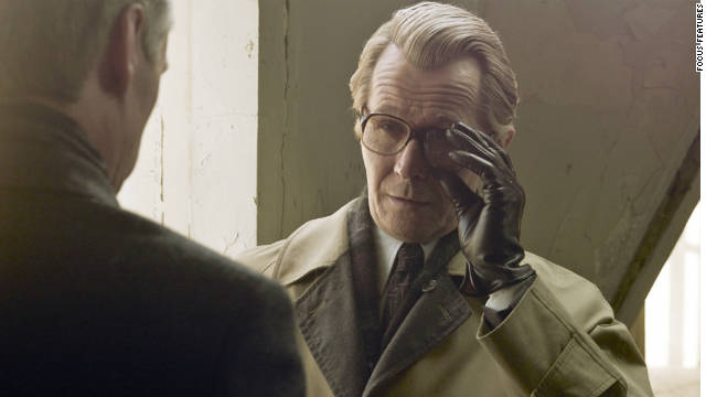 "Gary Oldman stars as George Smiley in the Cold War thriller ""Tinker Tailor Soldier Spy."""
