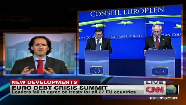 EU debt crisis stumbling block