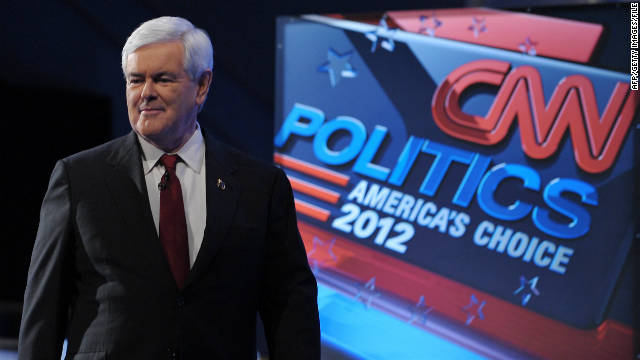 A lot had changed for Newt Gingirch since the last GOP debate, a CNN showdown in Washington just before Thanksgiving that was focused on national security and foreign policy.