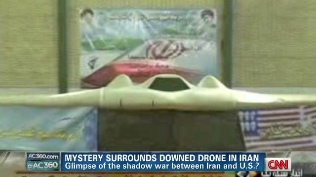 Mystery surrounds drone downed in Iran