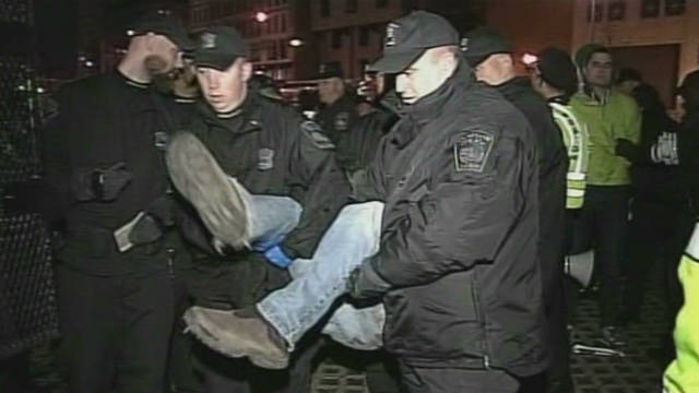 Occupy Boston protesters arrested