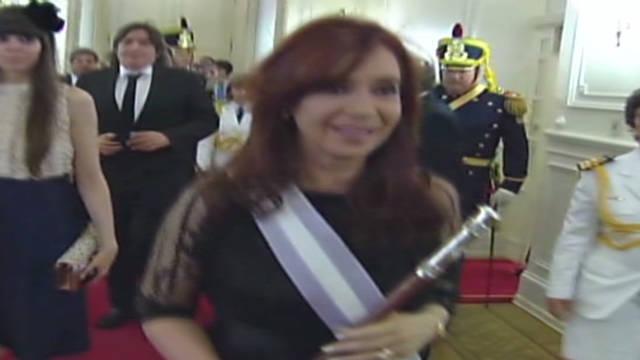Argentina's Fernandez sworn in again