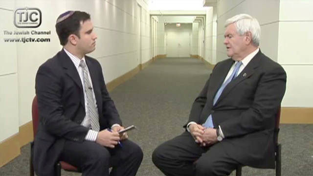 Gingrich Palestinian Controversy