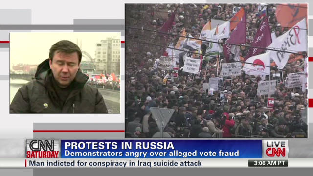 Protests erupt in Russia over elections