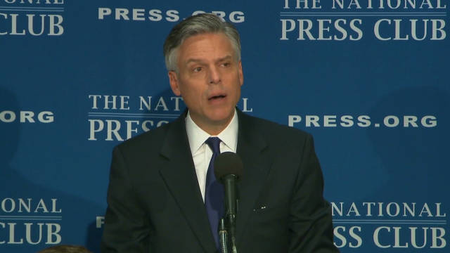 Huntsman touts 'Citizen Legislature Act'