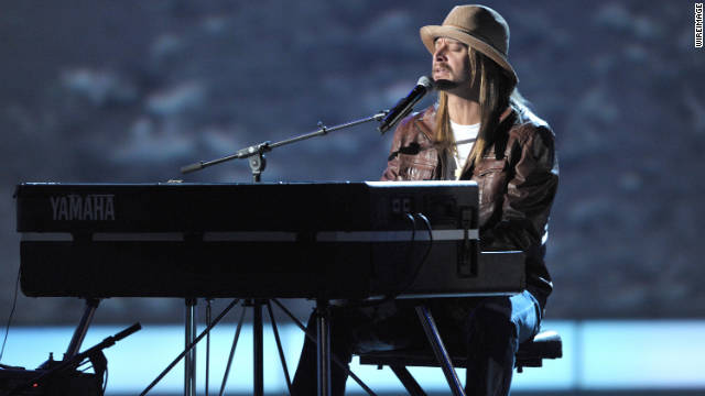 In addition to being a musician, Kid Rock is a vocal conservative.